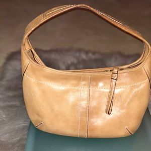 Coach British Tan Small shoulder Bag